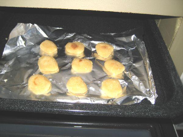 おからクッキーが出来上がった画像