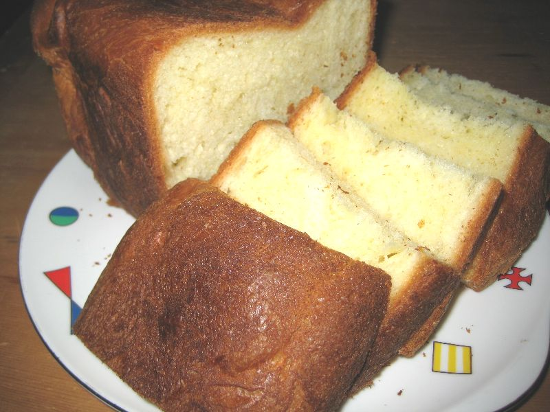 ホームベーカリー使いこなし術取説レシピデニッシュ風食パンの作り方