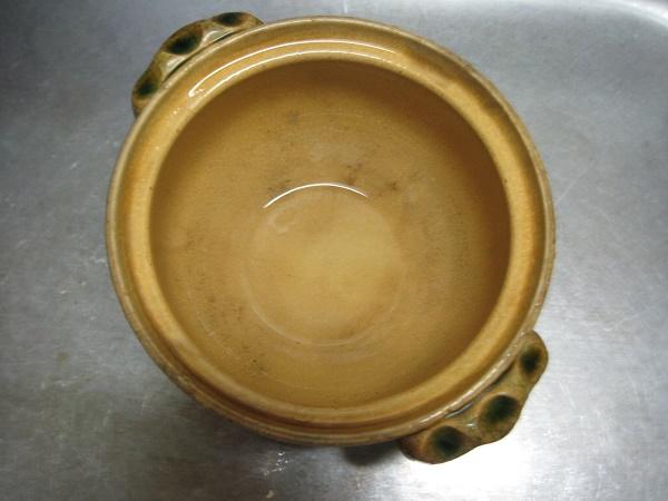 土鍋の焦げがきれいに落ちた画像