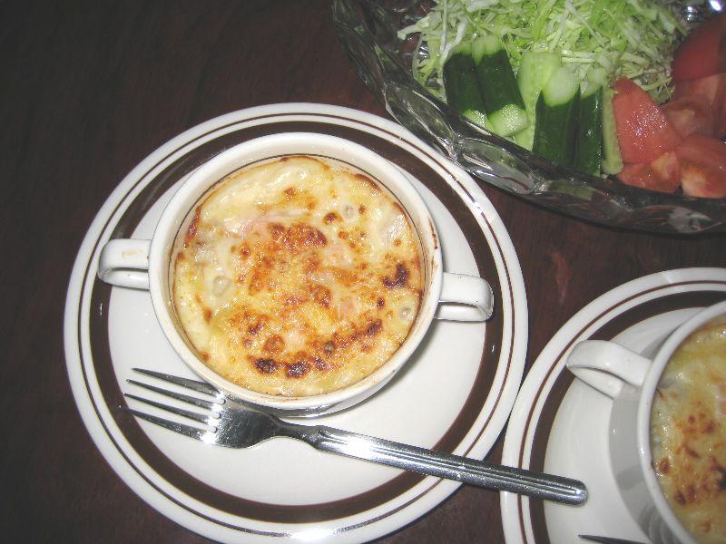 ビストロ内蔵レシピマカロニグラタンの作り方 うまさにニンマリ!