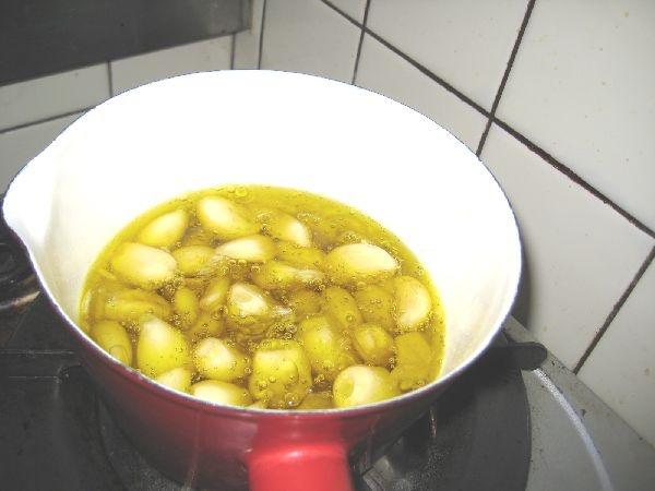 沸騰させないで15分煮た画像