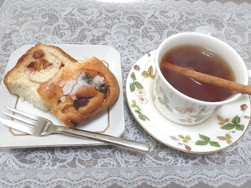ホームベーカリーおすすめレシピ シナモンロール作り方おしゃれッ