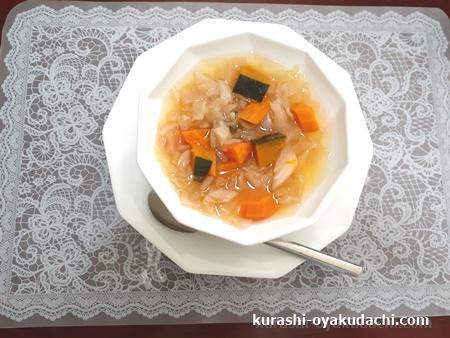 ファイトケミカルスープを食べてみた!画像