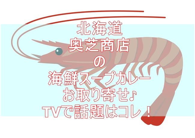奥芝商店の北海道の恵み 竜宮の賄い海鮮スープカレーの辛さや内容を調査!