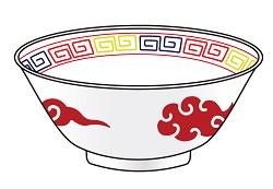 中華丼 イラスト